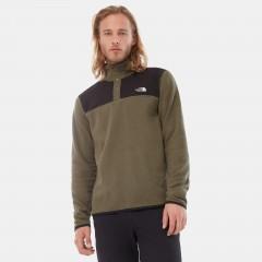 Mens TKA Glacier Snap-neck Pullover