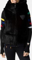 W E-fur Reversible Vest