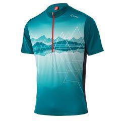 Men Bike Shirt Half Zip Peaks