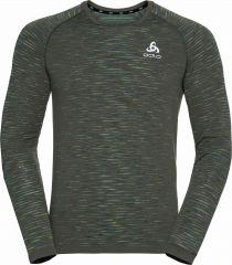T-shirt Long Sleeve Crew Neck Blackcomb Ceramico