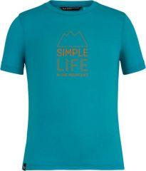 Simple Life Dry'ton K Short Sleeve Tee