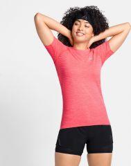T-shirt Short Sleeve Crew Neck Essential Seamless