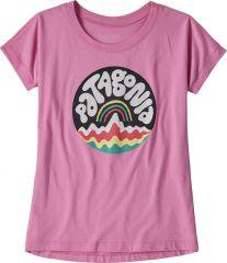 Girls' Graphic Organic T-shirt