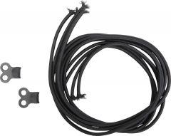 Blisterpack Elastic Band/Hooks for Gaiter 2pk