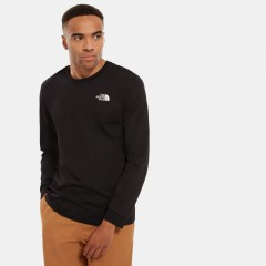 Mens Long Sleeve Simple Dome Tee