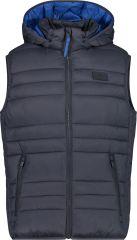 MAN Vest Zip Hood