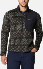 Sweater Weather Printed Half Zip