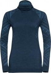 Damen Natural + Kinship Warm Funktionsunterwäsche Langarm-shirt mit Gesichtsmaske