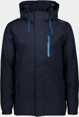 MAN Rain Zip Hood Jacket With Ventilation