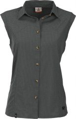 Rofanspitze-top-bluse Karo Elast