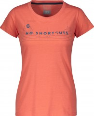 Tee W's 10 No Shortcuts s/sl