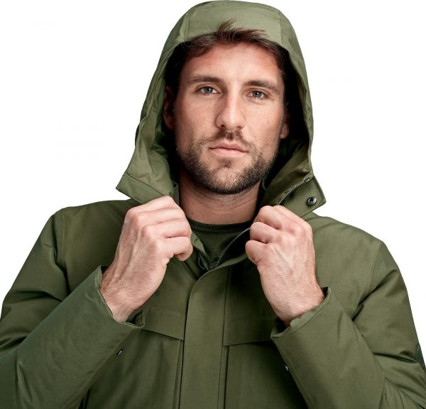 Mammut Chamuera Hs Thermo Hooded Parka Men Sportfits Shop