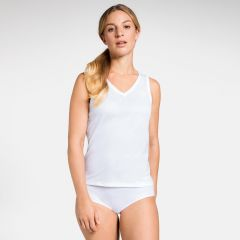 Women's Active F-dry Light V-neck Base Layer Singlet