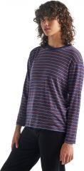 W 150 Long Sleeve Crewe Stripe