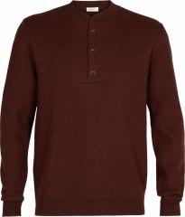 M Abbeyfield Half Button Sweater
